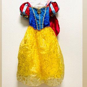 Snow White dress costume Disney original size 4